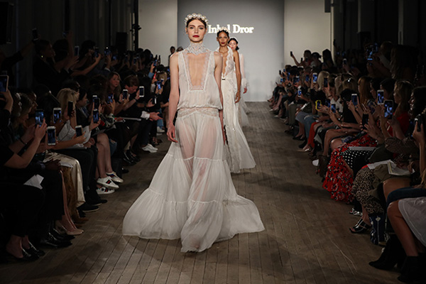 Fall Runway Show with Luxurious Bridal Creations   Inbal Dror 2019