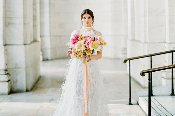 Summer Bridal Inspiration in the Heart of Manhattan